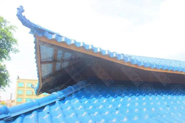 农村屋面设计,合成树脂瓦展现魅力之美!